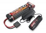 2983 Battery/charger completer pack (includes #2969 2-amp NiMH peak detecting AC charger (1), #2923X 3000mAh 8.4V 7-cell NiMH battery (1))