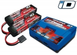 2990 Battery/charger completer pack (includes #2972 Dual iD® charger (1), #2872X 5000mAh 11.1V 3-cell 25C LiPo battery (2))