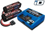 2993 Battery/charger completer pack (includes #2971 iD® charger (1), #2890X 6700mAh 14.8V 4-cell 25C LiPo battery (2))