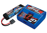 2995 Battery/charger completer pack (includes #2970 iD® charger (1), #2869X 7600mAh 7.4V 2-cell 25C LiPo battery (1))