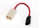 3028 Adapter, Molex to Traxxas® receiver battery pack (for charging) (1)
