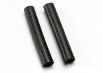 3149A Heat shield tubing, fiberglass (2) (black)