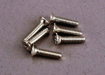 3161 Screws, 2x8mm countersunk machine (6)