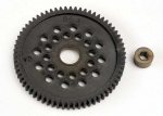 3166 Spur gear (66-Tooth) (32-Pitch) w/bushing