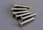 3179 Screws, 3x15mm countersunk machine (6)