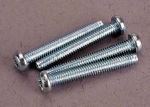 3189 Screws, 2.5x19mm roundhead machine screws (4)