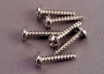 3288 Screws, 3x15mm washerhead self-tapping (6)