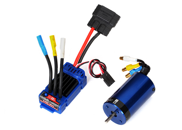 Traxxas 3370 Velineon® VXL-3m Brushless Power System ,  waterproof (includes waterproof VXL-3m ESC and Velineon 380 motor)