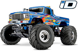 36034-1 Bigfoot® No. 1: 1/10 Scale Officially Licensed Replica Monster Truck with TQ 2.4GHz radio system