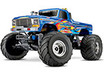 Retro Bigfoot® No. 1: 1/10 Scale Officially Licensed Replica Monster Truck.  Ready-to-Race® with TQ 2.4GHz radio system and XL-5 ESC (fwd/rev).  Includes: 7-Cell NiMH 3000mAh Traxxas® battery
