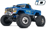 Classic Bigfoot® No. 1: 1/10 Scale Officially Licensed Replica Monster Truck.  Ready-to-Race® with TQ 2.4GHz radio system and XL-5 ESC (fwd/rev).  Includes: 7-Cell NiMH 3000mAh Traxxas® battery