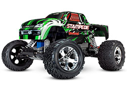 36054-4 Stampede®: 1/10 Scale Monster Truck with TQ 2.4GHz radio system