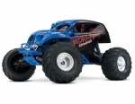 Blue Skully: 1/10 Scale Monster Truck with TQ 2.4GHz radio system