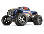 Blue Stampede VXL:  1/10 Scale Monster Truck with TQi Traxxas Link Enabled 2.4GHz Radio System & Traxxas Stability Management (TSM)