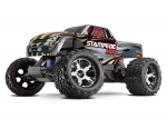 Silver Stampede VXL:  1/10 Scale Monster Truck with TQi Traxxas Link Enabled 2.4GHz Radio System & Traxxas Stability Management (TSM)