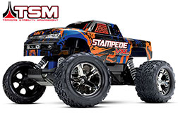 36076-4 Stampede® VXL:  1/10 Scale Monster Truck with TQi Traxxas Link™ Enabled 2.4GHz Radio System & Traxxas Stability Management (TSM)®