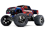 RED Stampede VXL:  1/10 Scale Monster Truck with TQi Traxxas Link Enabled 2.4GHz Radio System & Traxxas Stability Management (TSM)
