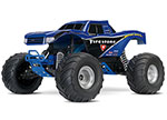 Firestone Ed. Bigfoot®: 1/10 Scale Officially Licensed Replica Monster Truck.  Ready-to-Race® with TQ 2.4GHz radio system and XL-5 ESC (fwd/rev).  Includes: 7-Cell NiMH 3000mAh Traxxas® battery