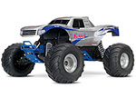 Summit Edition Bigfoot®: 1/10 Scale Officially Licensed Replica Monster Truck.  Ready-to-Race® with TQ 2.4GHz radio system and XL-5 ESC (fwd/rev).  Includes: 7-Cell NiMH 3000mAh Traxxas® battery