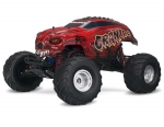 Red Craniac®: 1/10 Scale Monster Truck with TQ 2.4GHz radio system