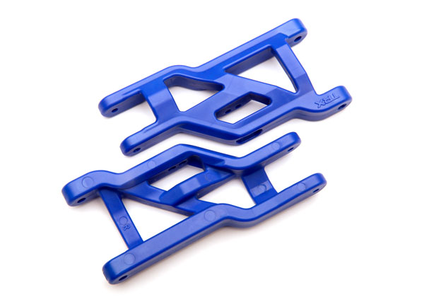Heavy-duty suspension arms (#3631A) blue