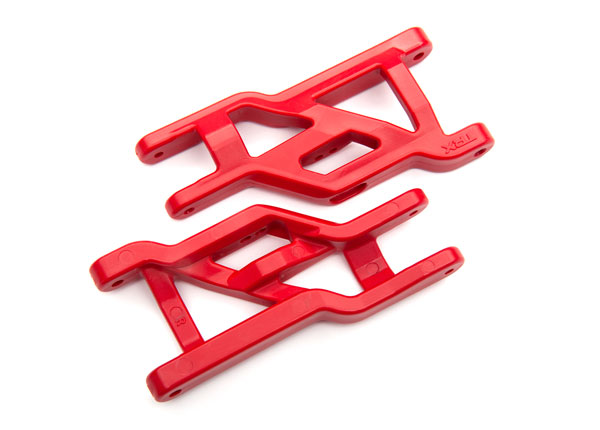 Heavy-duty suspension arms (#3631R) red