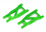 3655G Suspension arms, green, front/rear (left & right), heavy duty (2)