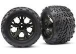 3669A Tires & wheels, assembled, glued (2.8