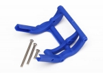 3677X Wheelie bar mount (1)/ hardware (blue)