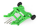 3678A Wheelie bar, assembled (green) (fits Slash, Bandit, Rustler®, Stampede® series)