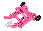 3678P Wheelie bar, assembled (pink) (fits Slash, Bandit, Rustler®, Stampede® series)