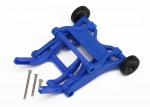 3678X Wheelie bar, assembled (blue) (fits Slash, Stampede®, Rustler®, Bandit series)