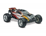 Black Rustler: 1/10 Scale Stadium Truck with TQ 2.4 GHz radio system