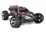 Courtney Force Rustler: 1/10 Scale Stadium Truck with TQ 2.4 GHz radio system