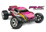 Pink Rustler: 1/10 Scale Stadium Truck with TQ 2.4 GHz radio system