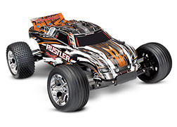37054-4 Rustler®: 1/10 Scale Stadium Truck with TQ 2.4 GHz radio system