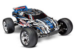 BLUE Rustler: 1/10 Scale Stadium Truck with TQ 2.4 GHz radio system