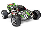 GREEN Rustler®: 1/10 Scale Stadium Truck with TQ 2.4 GHz radio system