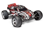 RED Rustler: 1/10 Scale Stadium Truck with TQ 2.4 GHz radio system