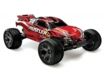 Red Rustler VXL:  1/10 Scale Stadium Truck with TQi Traxxas Link Enabled 2.4GHz Radio System