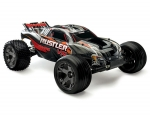 Black Rustler VXL:  1/10 Scale Stadium Truck with TQi Traxxas Link Enabled 2.4GHz Radio System & Traxxas Stability Management (TSM)