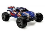 Blue Rustler VXL:  1/10 Scale Stadium Truck with TQi Traxxas Link Enabled 2.4GHz Radio System & Traxxas Stability Management (TSM)