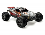 Silver Rustler VXL:  1/10 Scale Stadium Truck with TQi Traxxas Link Enabled 2.4GHz Radio System & Traxxas Stability Management (TSM)