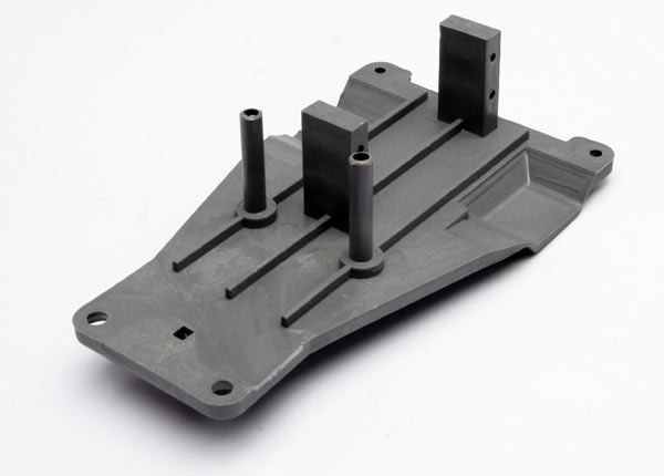3723A Upper chassis (gray) for Traxxas Bandit & Rustler  TRX3723A
