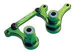 3743G Steering bellcranks, drag link (green-anodized 6061-T6 aluminum)/ 5x8mm ball bearings (4)/ hardware (assembled)
