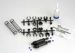 3762 Ultra Shocks (black) (xx-long) (complete w/ spring pre-load spacers & springs) (rear) (2)