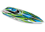 Green Blast: High Performance Race Boat with TQ 2.4GHz radio system