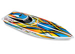 Orange Blast: High Performance Race Boat with TQ 2.4GHz radio system