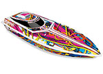 Swirl Blast: High Performance Race Boat with TQ 2.4GHz radio system