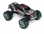 Black/Red E-Maxx:  1/10 Scale Electric 4WD Monster Truck with TQi Traxxas Link Enabled 2.4GHz Radio System